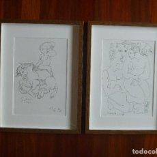 Arte: TORNER DE SEMIR SERIE RAPTE D´EUROPA ESPAÑA CATALUÑA INDEPENDENTISMO CATALÁN DIBUJOS ORIGINALES. Lote 114674195