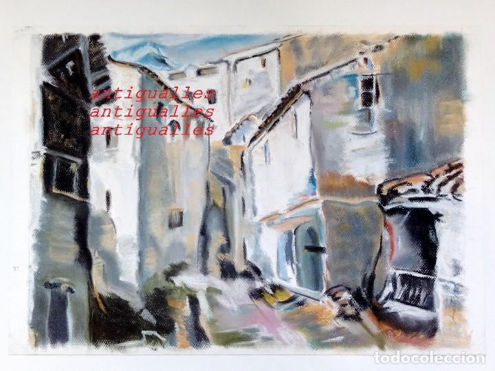 DIBUJO A PASTEL,CON FIRMA DE AUTOR MARTI/95.MEDIDA:50X35.PINTURA,CUADRO,BELLAS ARTES. (Arte - Dibujos - Contemporáneos siglo XX)