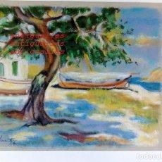 Arte: DIBUJO A PASTEL,CON FIRMA DE AUTOR MARTI/95.MEDIDA:30X25.PINTURA,CUADRO,BELLAS ARTES.. Lote 114704007