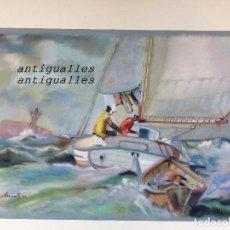 Arte: DIBUJO A PASTEL,CON FIRMA DE AUTOR MARTI/99.MEDIDA:50X35.PINTURA,CUADRO,BELLAS ARTES. Lote 114709183