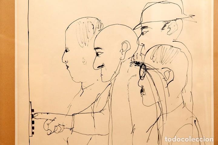 Art: CESC - DIBUJO A TINTA - RETRATO DE FOUJITA - Foto 3 - 114889459