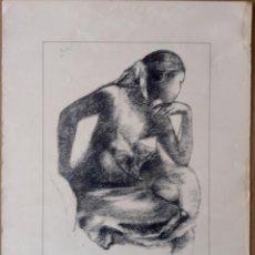 Arte: JORDI ROLLAN REPRODUCCIÓN TIPO LITOGRAFIA FIRMADA POR EL ARTISTA. Lote 115278939
