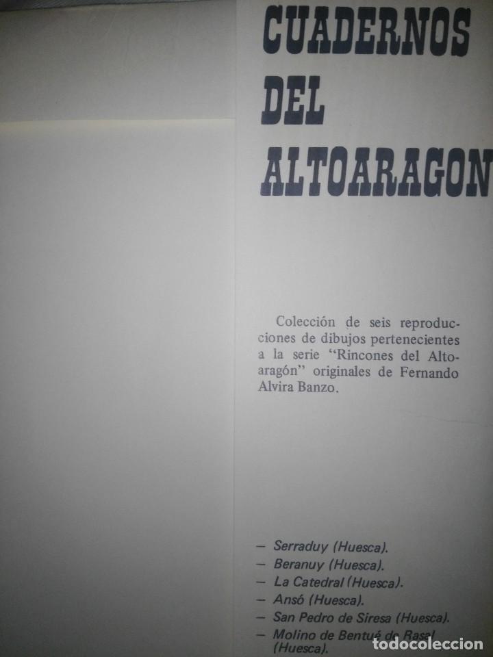Arte: coleccion reproducciones rincones del alto-aragon alvira banzo - Foto 2 - 115407535