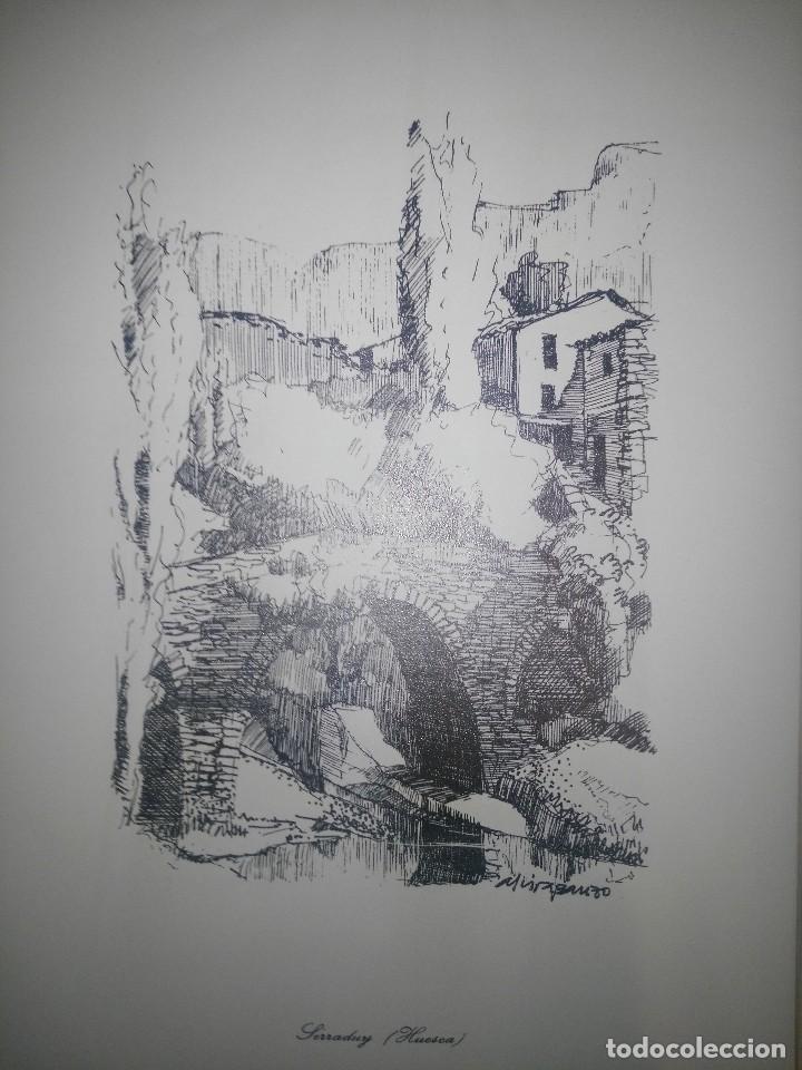 Arte: coleccion reproducciones rincones del alto-aragon alvira banzo - Foto 4 - 115407535