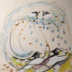 Arte: ROSER MUNTAÑOLA INGLADA, OBRA ORIGINAL REPRODUCIDA. Lote 115506339