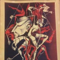 Arte: PRISIONEROS DE LA LIBERTAD ¿TODAVÍA ESTÁIS ATADOS? OBENIH 1977. Lote 115531963