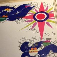 Arte: MARIA RIUS, OBRA ORIGINAL FIRMADA Y CATALOGADA, 45X50 CMS. Lote 115563451