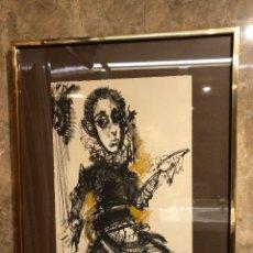 Arte: CUADRO ALVARO DELGADO INFANTE D.JUAN MANUEL 72*59 (600€). Lote 115623259