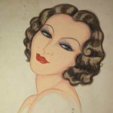 Arte: DIBUJO ORIGINAL 1934 FIRMADO DOLAREA. Lote 116282575