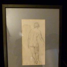 Arte: DIBUJO DE MANOLO HUGUE 1872-1945. Lote 116593523