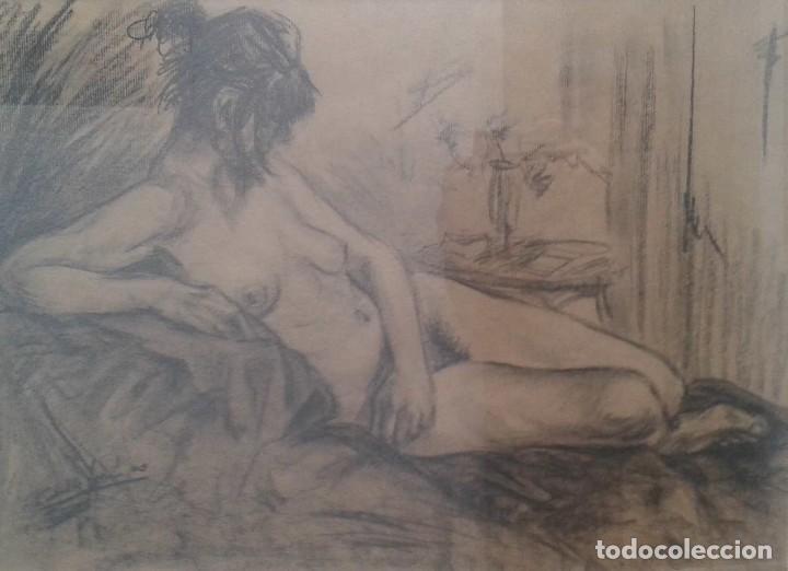 LLORENÇ CABALLE JUANICO. PINTOR NACIDO EN SABADELL EN 1951, ACTUALMENTE VIVE EN CASTELLAR VALLES (Arte - Dibujos - Contemporáneos siglo XX)