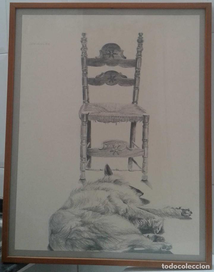 Arte: Ricard Calvo Duran. Pintor nacido en 1940 en Sabadell. (Laika) - Foto 2 - 116901223