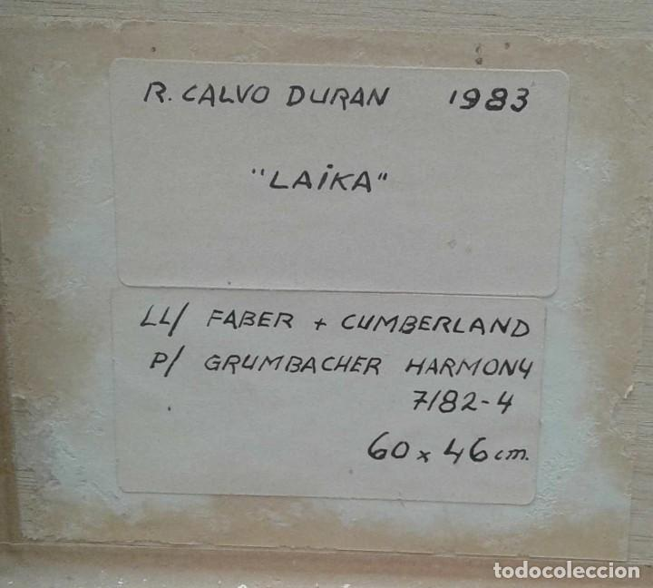 Arte: Ricard Calvo Duran. Pintor nacido en 1940 en Sabadell. (Laika) - Foto 4 - 116901223