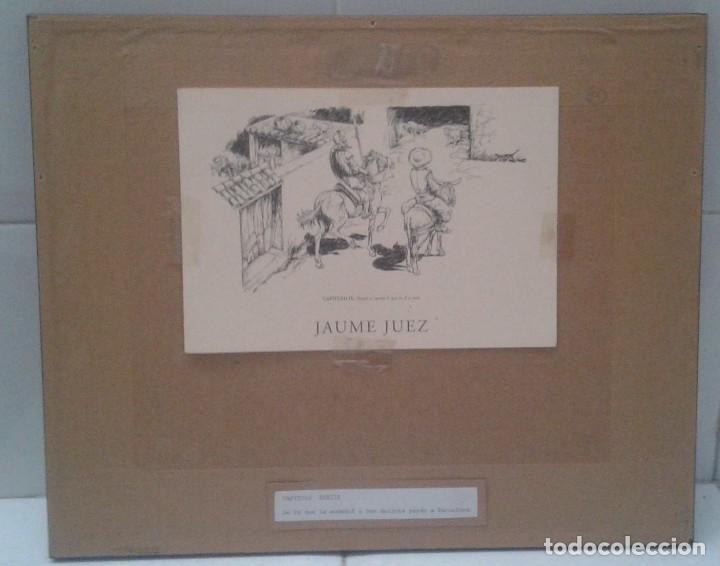 Arte: Jaume Juez nacido en Barcelona en 1906,.dibujo del capitulo IX del Quijote - Foto 8 - 116902679