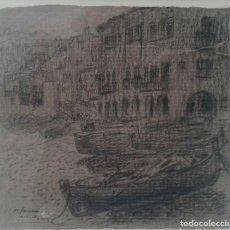 Arte: PERE SANROMA MAÑÁ (SABADELL 1935) CALELLA 1989. Lote 116905019