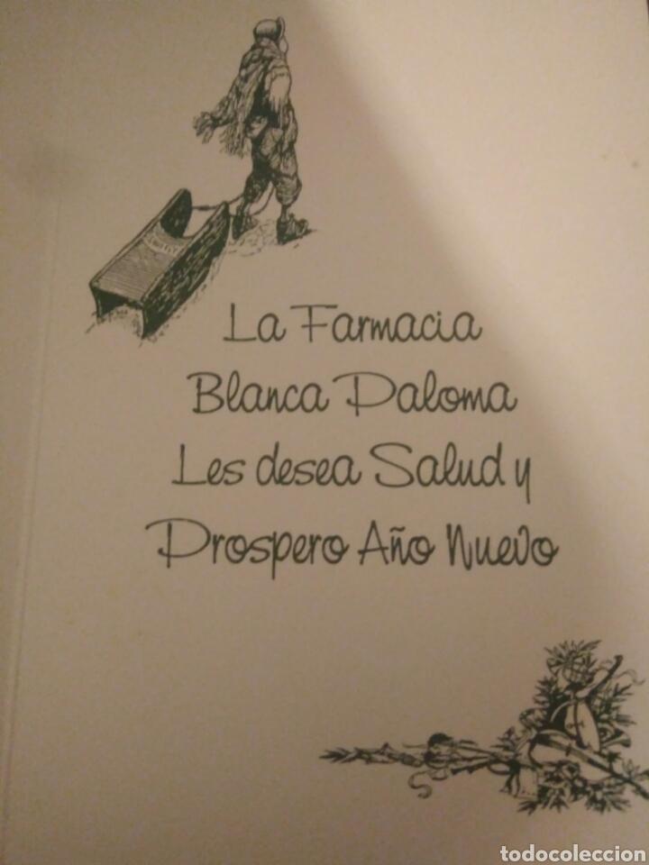Arte: CRISMA DE NAVIDAD PUBLICIDAD FARMACIA BLANCA PALOMA.SEVILLA - Foto 2 - 117406231