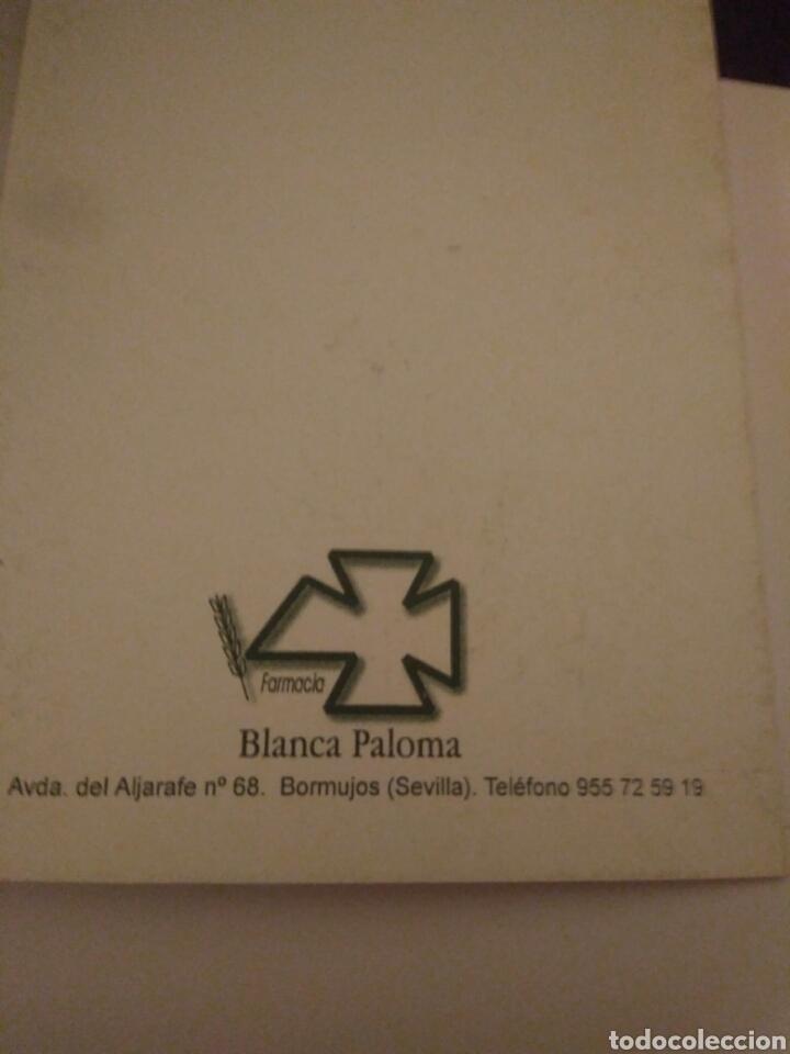 Arte: CRISMA DE NAVIDAD PUBLICIDAD FARMACIA BLANCA PALOMA.SEVILLA - Foto 3 - 117406231
