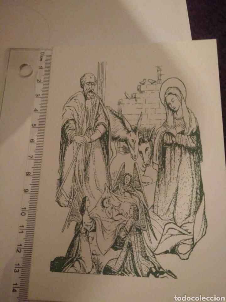 Arte: CRISMA DE NAVIDAD PUBLICIDAD FARMACIA BLANCA PALOMA.SEVILLA - Foto 4 - 117406231