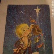 Arte: BONITO CRISMA DE NAVIDAD PAX-SAMOK AÑOS 80 DEDICADA. Lote 117406336