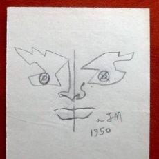 Arte: DIBUJO A LAPIZ. .1950. EL ENVIO ESTA INCLUIDO.. Lote 117422367
