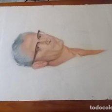 Arte - MUY INTERESANTE RETRATO DE CABALLERO // A CARBONCILLO Y CERAS / 65X50 - 118195635