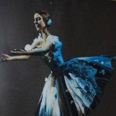 Arte: PINTURA AL PASTEL - BAILARINA - BALLET - F. PORTAL. M. - AÑOS 60. Lote 118264327