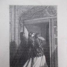 Arte: AÑO 1881 - MAJAS EN SEVILLA- HERMOSO GRABADO FRANCÉS DE V. FOULQUIER . Lote 118359771