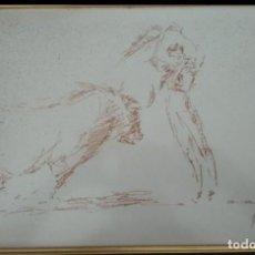 Arte: APUNTE TAURINO ORIGINAL FIRMADO. Lote 118437427