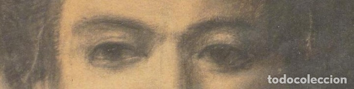 Arte: Retrato de mujer. Firmado R. Casas (Ramon Casas ?) - Foto 2 - 118236859
