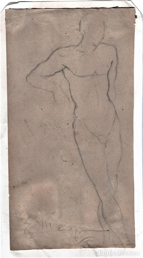 dibujo original a lapiz del pintor impresionist - Comprar Dibujos ...