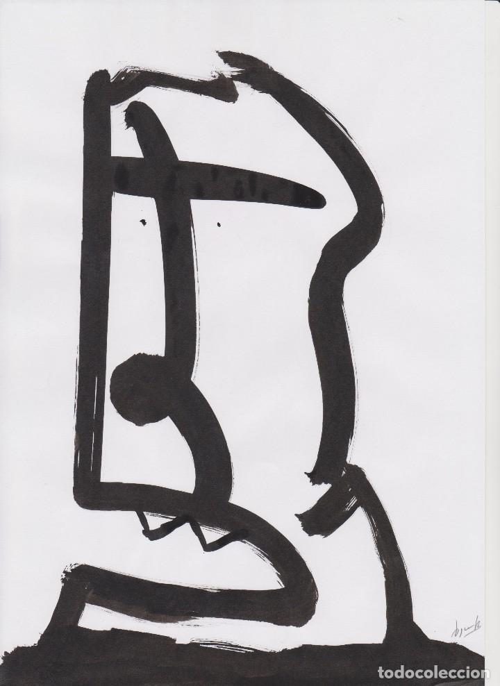 ÒSCAR ROCABERT - PAYASO - DIBUJO A TINTA - AÑOS 2000 (Arte - Dibujos - Contemporáneos siglo XX)