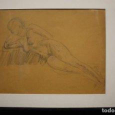 Arte: DESNUDO FEMININO - JOSEP CLARÀ. Lote 119086739