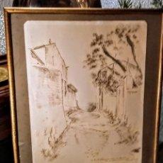 Arte: DIBUJO ORIGINAL DE PERE PRAT UBACH(EL PAPUS) . Lote 119145795