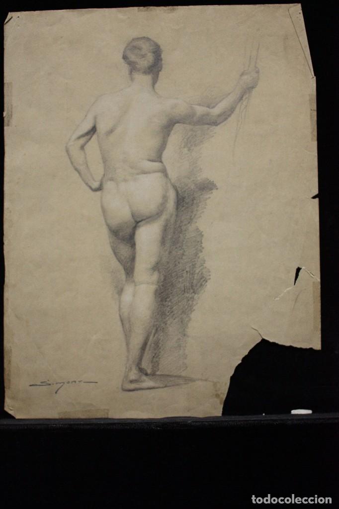 ACADEMIA - JOSEP SIMONT (Arte - Dibujos - Contemporáneos siglo XX)