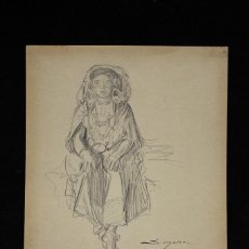 Arte: MUJER - JOSEP SIMONT. Lote 119189291