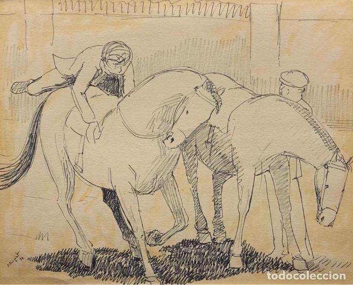 SEBASTIÀ CONGOST I PLA (Arte - Dibujos - Contemporáneos siglo XX)