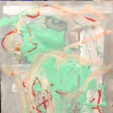 Arte: TÉCNICA MIXTA SOBRE PAPEL - 1989 - ADOLF GENOVART - FIRMADO. Lote 119620111