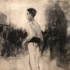 Arte: DIBUJO TINTA SOBRE PAPEL - 1977 - JOAN MAS - FIRMADO. Lote 119621823