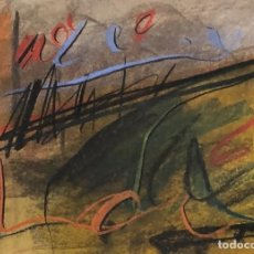 Arte: TÉCNICA MIXTA SOBRE PAPEL - JAUME GENOVART - FIRMADO. Lote 119622223