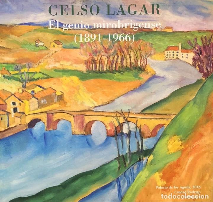 Arte: Dibujo Tinta sobre Papel - Celso Lagar - Firmado + Catálogo ( El Genio mirobrigense ) - Foto 2 - 119652711
