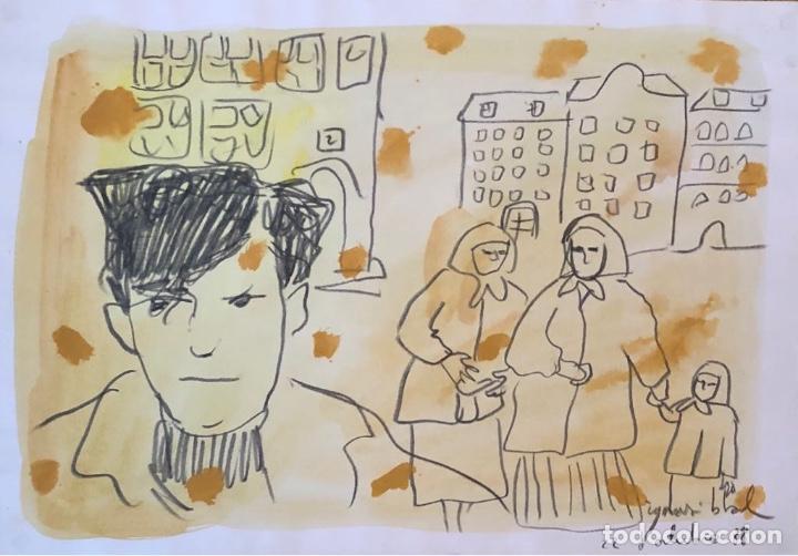 IGNASI BLANCH (Arte - Dibujos - Contemporáneos siglo XX)
