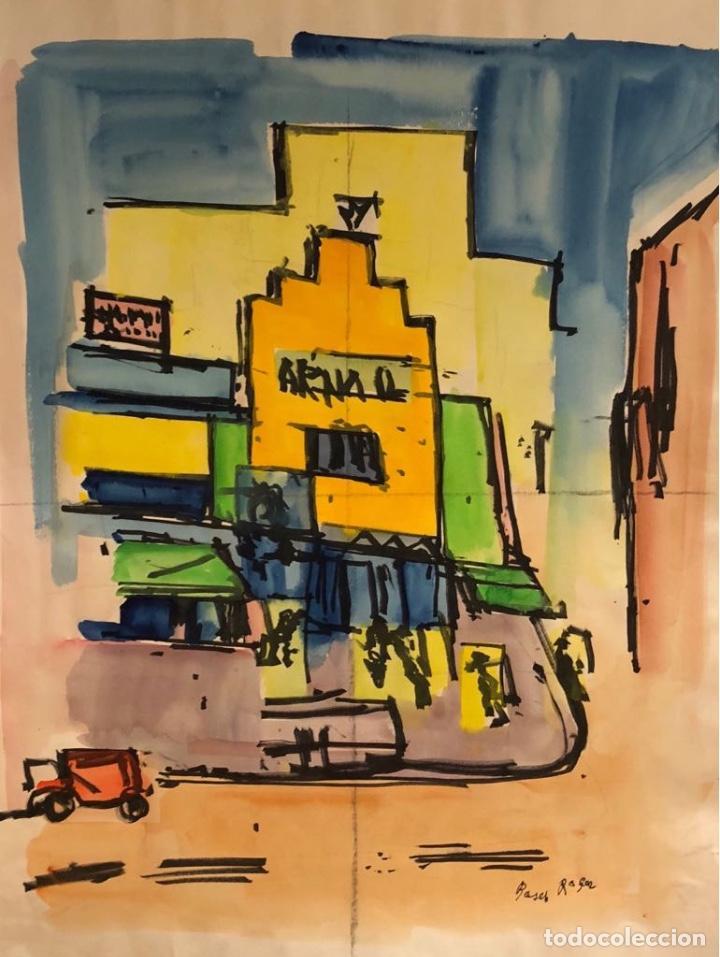 BOSCH ROIGER (Arte - Dibujos - Contemporáneos siglo XX)
