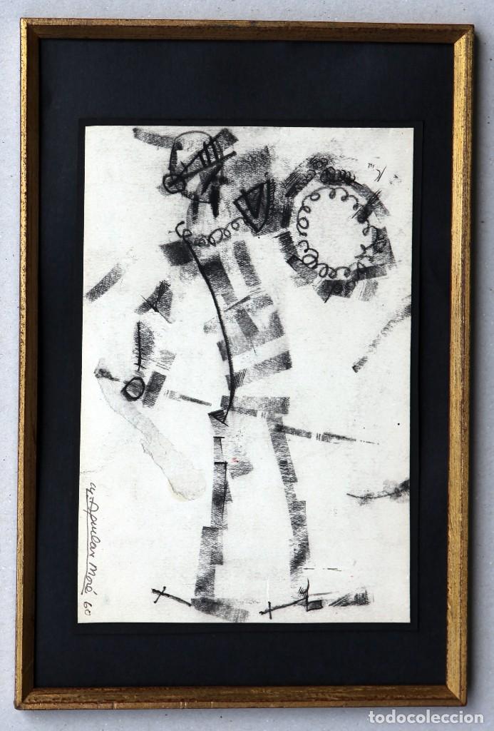 AGUILAR MORÉ. PEQUEÑO DIBUJO DE EL QUIJOTE (Arte - Dibujos - Contemporáneos siglo XX)