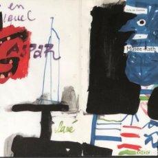 Arte: TÉCNICA MIXTA SOBRE PAPEL - ANTONI CLAVÉ - FIRMADA. Lote 120285551