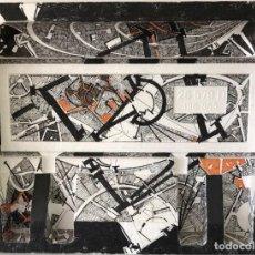 Arte: TÉCNICA MIXTA SOBRE POREXPAN - JOAN VILACASAS - FIRMADA. Lote 120289199