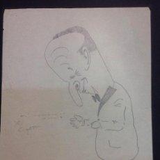 Arte: XAVIER CUGAT. CARICATURA.. Lote 120507943
