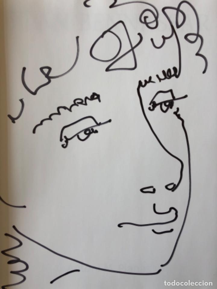 Arte: Dibujo firmado Joan Bennassar en libro sobre el pintor de Antoni M. Planas - Foto 2 - 120706643