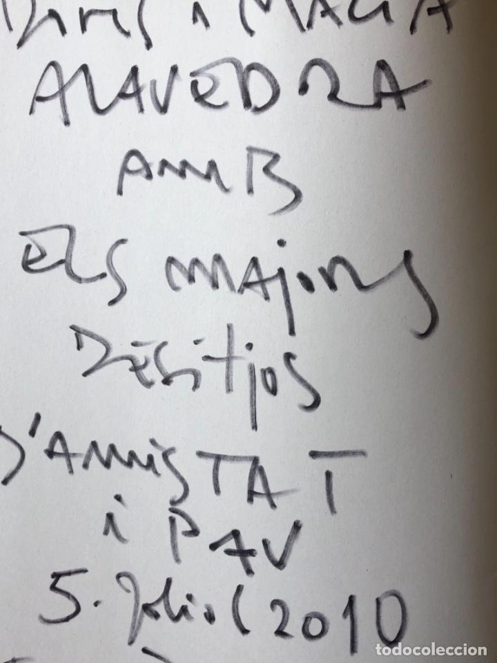 Arte: Dibujo firmado Joan Bennassar en libro sobre el pintor de Antoni M. Planas - Foto 4 - 120706643