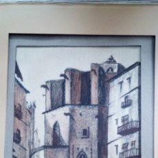 Arte: CARBONCILLO D' PONI. MICHARVEGAS, 32 X 26 X 2 CM. Lote 182488565