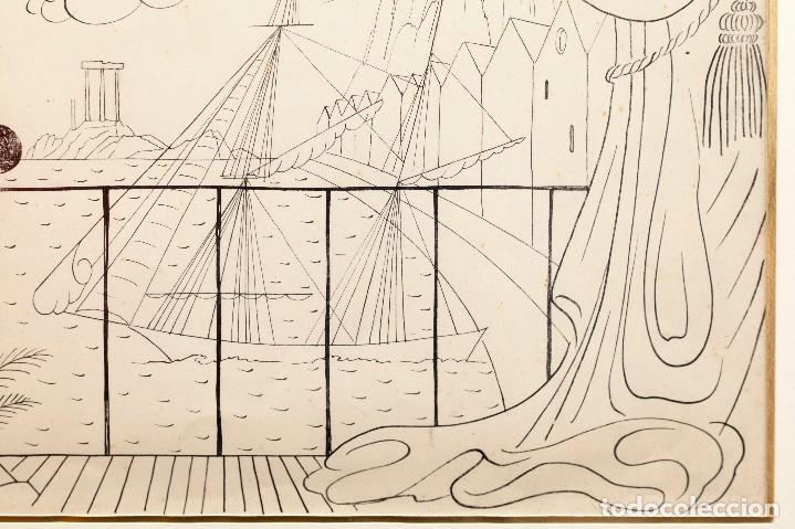 Arte: Urbano LUGRIS GONZALEZ (1908-1973) - TINTA SOBRE PAPEL - 1961 - Foto 7 - 121331419